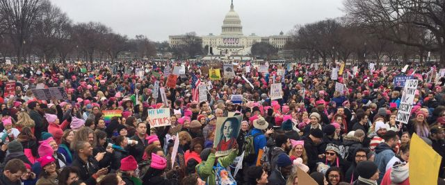 ABC News photo of Women's March